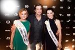 Fábio Assunção arrasou no red carpet, ao lado das  candidatas ao prêmio. A elegância foi a marca do evento